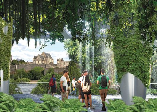 Des interstices urbains où la végétation et les usages se déploient