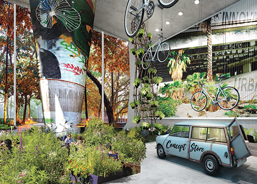 Un concept store végétal en lien avec Chlorosphère et Jardiland