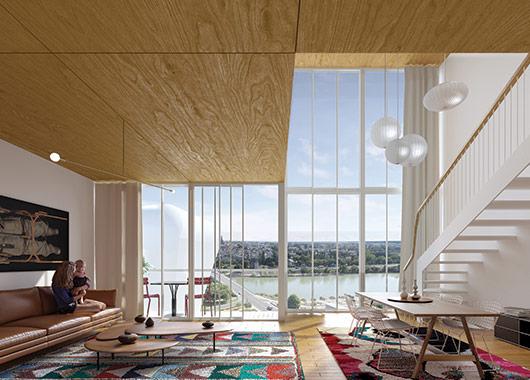 Musée des Collectionneurs - Vue intérieure d'un logement
